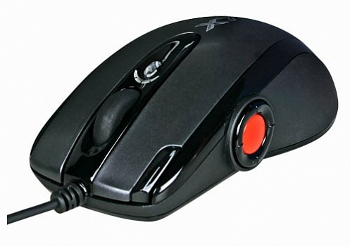 Мышь A4 XL-755BK black Laser gaming Oscar Full Speed USB