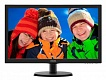 Монитор PHILIPS 21.5'' 223V5LSB2 (черный, TN+film, LED, 5мс, 16:9, матовая, 200кд/м2, 10M:1, 3000:1, 1920x1080, D-SUB) 223V5LSB2 (10/62) , RTL