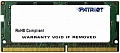 Память DDR4 16Gb 2133MHz Patriot PSD416G21332S RTL PC4-17000 CL15 SO-DIMM 260-pin 1.2В dual rank